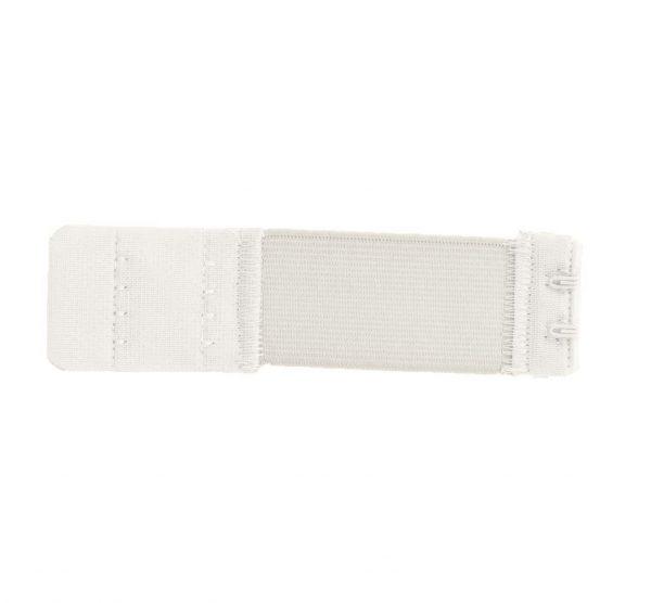 Rallonge dos soutien gorge 2 portes 3cm blanc