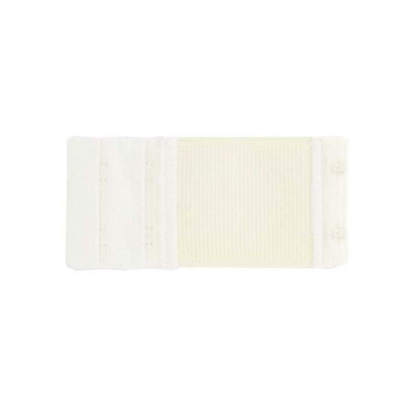 Rallonge dos soutien gorge 2 portes 5cm blanc