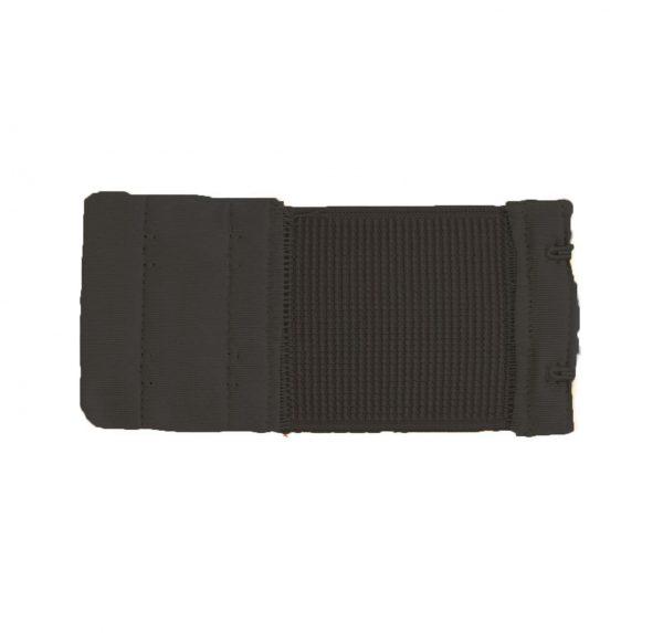Rallonge dos soutien gorge 2 portes 5cm noir