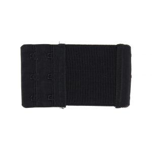 Rallonge dos soutien gorge 2 portes 6cm noir