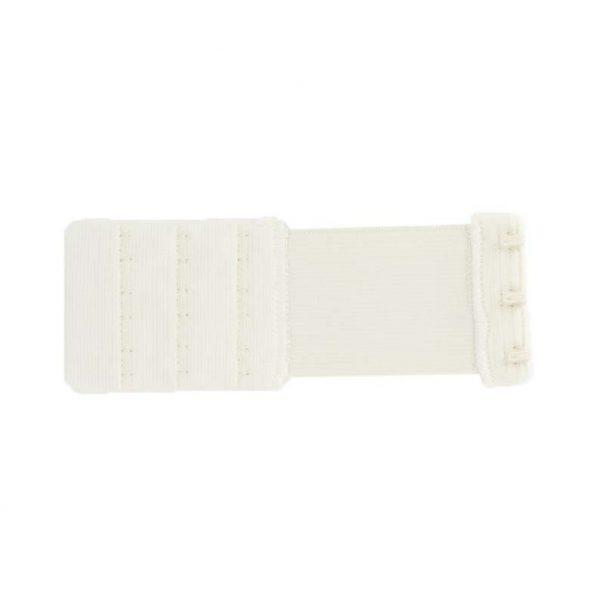 Rallonge dos soutien gorge 3 portes 40mm blanc