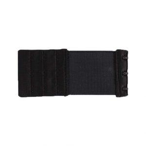 Rallonge dos soutien gorge 3 portes 50mm noir