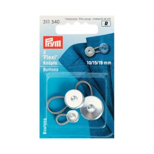 Boutons flexi 10 - 15 - 19mm