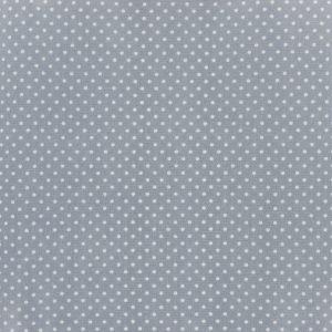 Coupon toile enduite 46x60 cm - gris clair poids blancs