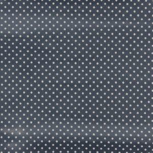 Coupon toile enduite 46x60 cm - gris moyen poids blancs