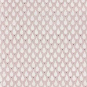 Coupon toile enduite 46x60 cm - chair gouttes d eaux