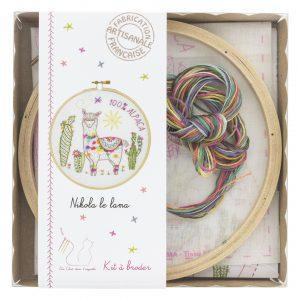 Kit à broder -  Nikola le lama