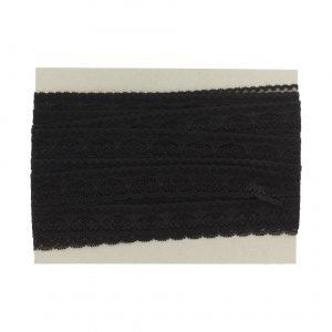 Dentelle noir largeur 2,5cm