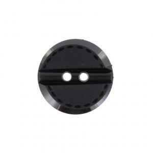 Bouton couture fantaisie noir 18 mm - 408 10126 18 00