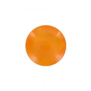 petit Bouton nacre orange 12mm - 408 10128 12 17