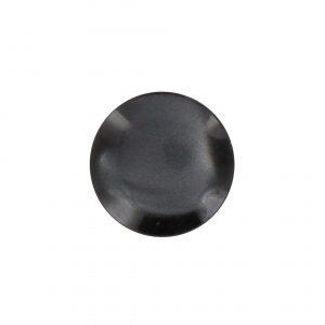 petit Bouton nacre  noir 12mm - 408 10128 12 21