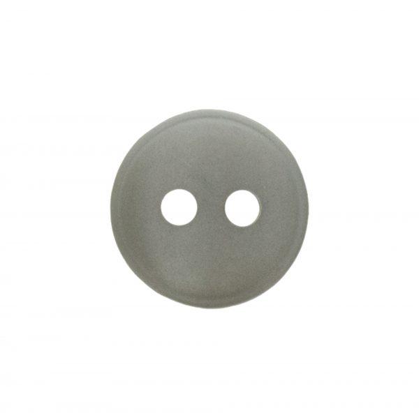 Bouton classique gris 12mm - 408 10140 12 30