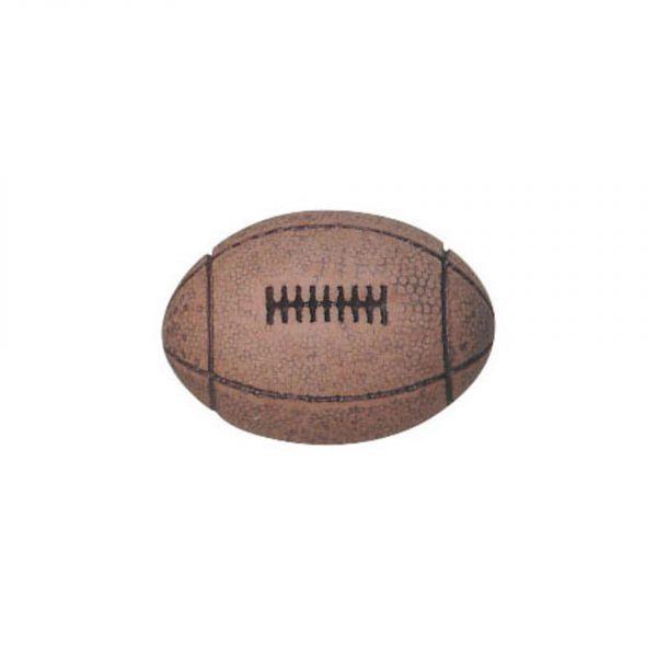 Bouton enfant forme ballon de rugby 15mm - 408 24093 15 99