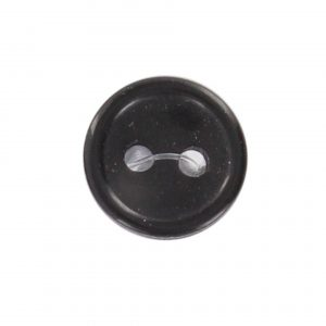 Bouton classique noir 09mm - 408 24715 09 00