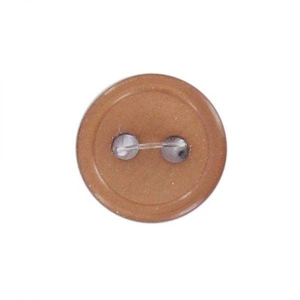 Bouton classique beige 09mm - 408 24715 09 05