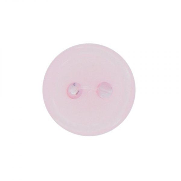 Bouton classique rose 09mm - 408 24715 09 10