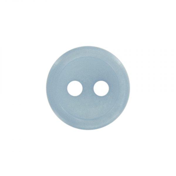 Bouton classique bleu 11mm - 408 24715 11 27