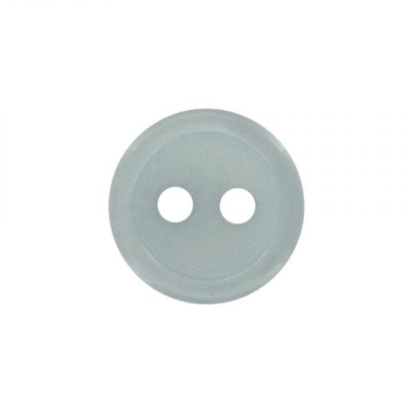 Bouton classique gris 11mm - 408 24715 11 29