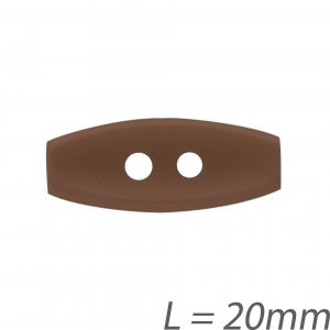 Buchette enfant marron 20mm - 408 24740 20 05