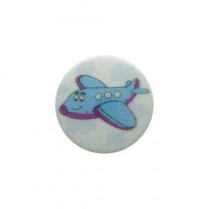 Bouton enfant avion - 408 24860 15 18