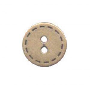bouton fantaisie metal 18 mm - 408 25610 18 44