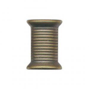 Bouton fantaisie forme bobine ABS 15 mm - 408 25706 15 44