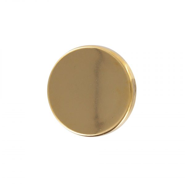 bouton couture plat metal or 15mm - 408 25713 15 40