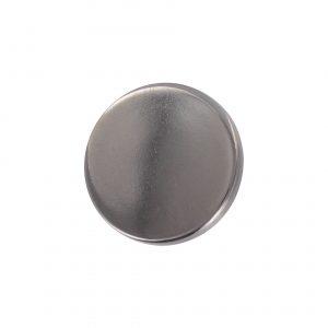 bouton couture plat metal canon de fusil 15mm - 408 25713 15 54