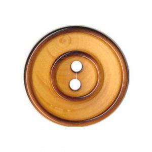 Bouton couture en bois vernis 14mm - 408 26005 14 30