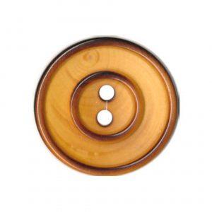 Bouton couture en bois vernis 22mm - 408 26005 22 30