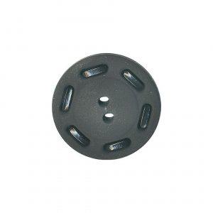 Bouton couture fantaisie noir 18mm - 408 27049 18 00