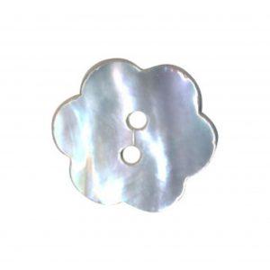 Bouton nacre naturelle fleur nacré 12mm - 408 28018 12 99
