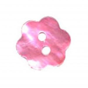 Bouton nacre fleur 15mm - 408 28134 15 20