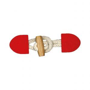 Bûchette rouge 10,5x3 cm - 408 43043 99 09