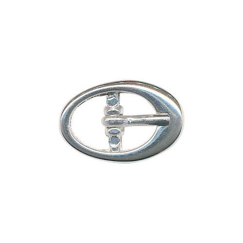 Boucle métal argent 10 mm - 408 44100 10 99