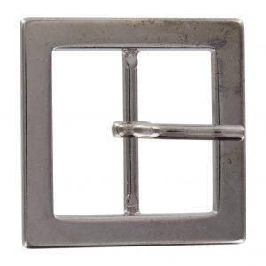 Boucle metal carré canon de fusil 25mm - 408 45144 25 54