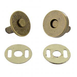 Bouton pression aimante bronze 20mm - 408 45177 99 44