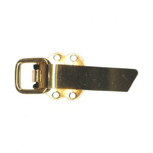 Clip attache fourrure métal 35 mm
