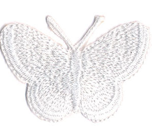 Thermocollant PAPILLON BLANC 3,5 x 5 cm