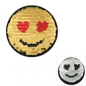Patch réversible Smiley