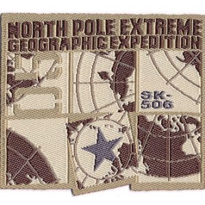 Thermocollant north pole extreme 5 x 5,5 cm