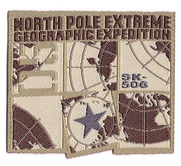 Thermocollant north pole extreme 5 x 5,5 cm
