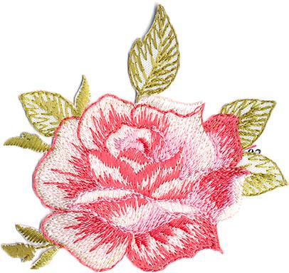 Thermocollant fleur 6 x 6,5 cm