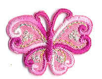 Thermocollant papillon 2 x 3 cm