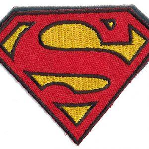 Thermocollant licence superman 5,5 x 7 cm
