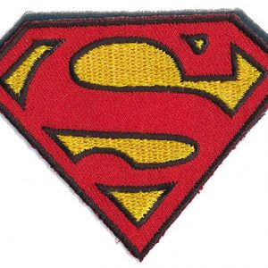 Thermocollant licence superman 5,5 x 7 cm