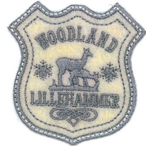 Thermocollant Ecusson Woodland 6 x 6 cm
