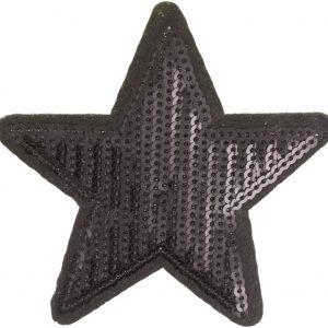 Thermocollant Etoile 8x8cm noir