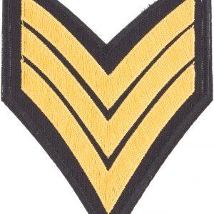 Thermocollant Armée 7,5x7,5cm
