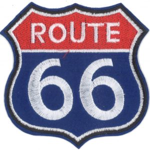 Thermocollant ROUTE 66 /7,5X8,5CM